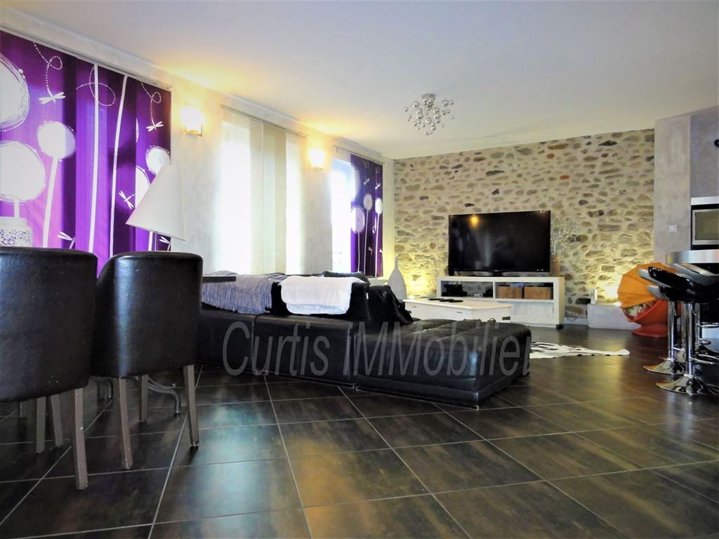 Appartement F4 LE CHAMBON FEUGEROLLES (42500) CURTIS IMMOBILIER